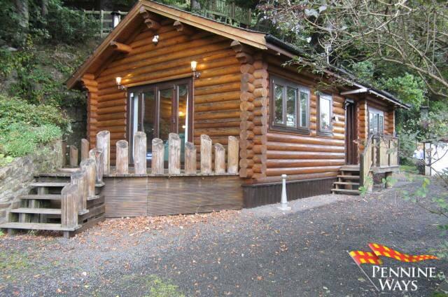 River view log cabin melkridge pennine ways for River view cabins